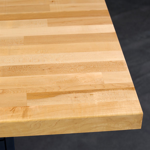 1-3/4 inch thick maple workstation top