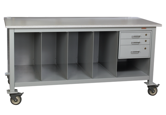 Mobile Packing & Shipping Workstation