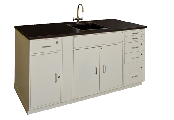 Cabinet Workstation with Sink