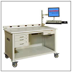 Mobile instrumentation workstation