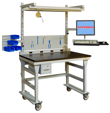 Phenomenal Mobile Workstations Workbenches Workplace Modular Pdpeps Interior Chair Design Pdpepsorg
