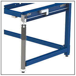 All critical components are fully enclosed in each Leg Unit.